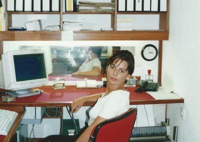 Oficinas Formafil en 1993