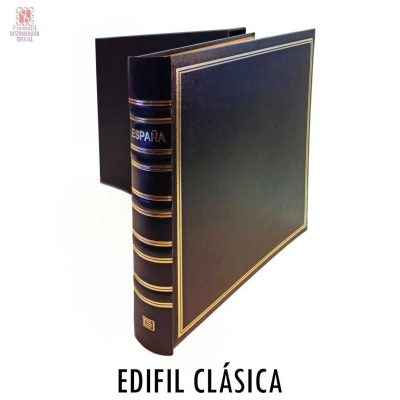 Album para sellos edifil clásica. Album de sellos clásico edifil.