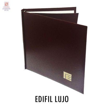 Album para sellos edifil lujo. Album de sellos lujo edifil.