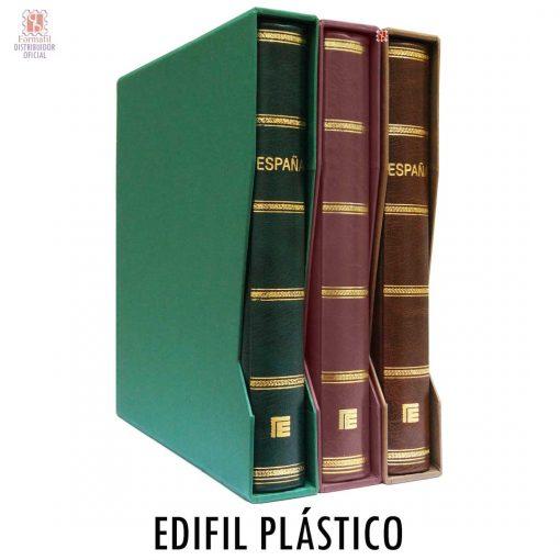 Album para sellos Edifil Plástico