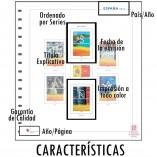 Caracteristicas de las hojas de album para sellos unifil