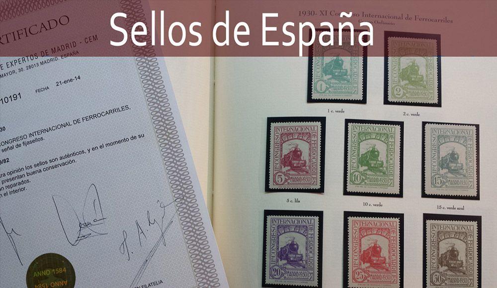 Sellos de España