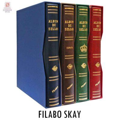 Album de sellos filabo skay para guardar las hojas de álbum filabo