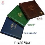 ALBUM FILABO SKAY ESPAÑA CORONA SIN INSCRIPCION