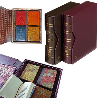 Album optima bibliofil para las obras monograficas de bibliotelia de 10,5 por 8 cm