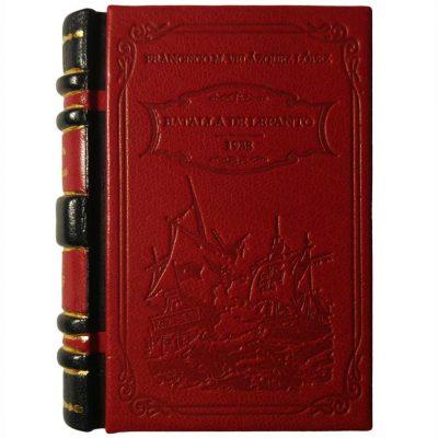 Edición monográfica de bibliofilia filatelia y bibliotelia de la Batalla de Lepanto con las hojas bloque de la batalla de lepanto de 1938
