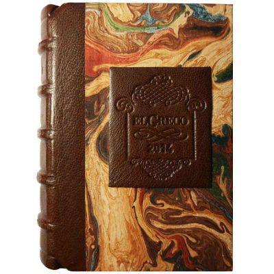 Edición monográfica de bibliofilia filatelia y bibliotelia del Greco con los sellos de el Greco de 1961 y la efemérides del centenario de su muerte de 2014