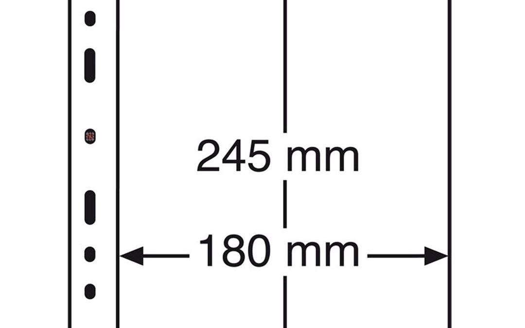 Hojas Transparentes de Ventanilla Óptima 1C