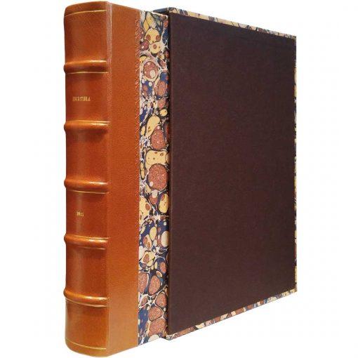 Edición conmemorativa de bibliofilia filatelia y bibliotelia, edición peregrinatio.