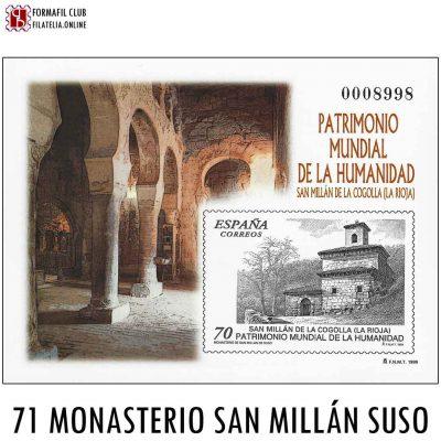 71 MONASTERIO SAN MILLAN SUSO