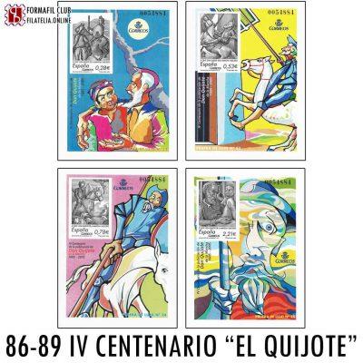 IV Centenario de la publicación de El Quijote