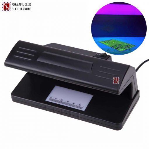 Lampara ultravioleta de mesa para billetes y sellos