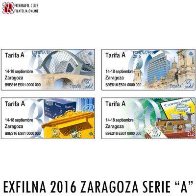 ATM EXFILNA ZARAGOZA 2016 SERIE A PUENTE PILAR BUZON TELEGRAFO