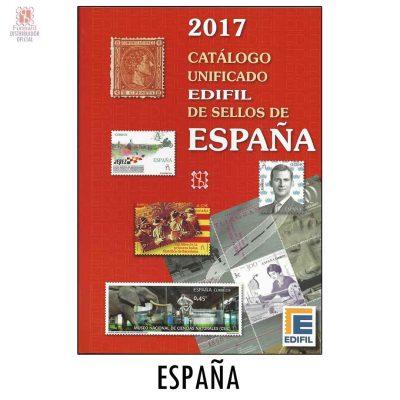 CATALOGO EDIFIL 2017 PARA SELLOS DE ESPAÑA CATALOGO UNIFICADO EDIFIL DE SELLOS DE ESPAÑA