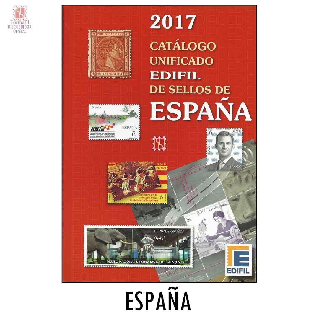 Cat Logo De Sellos De Espa A Edifil 2017 Filatelia