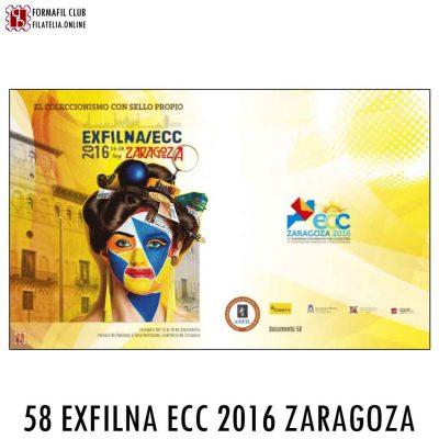 EXFILNA 2016 Documento filatelico oficial 58
