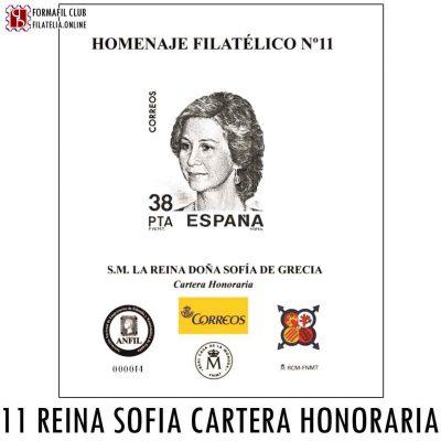 EXFILNA 2016 Homenaje Filatelico numero 11