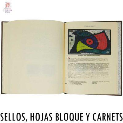 LIBRO ALBUM DE CORREOS PARA LOS SELLOS TOMO BIBLIOFIL