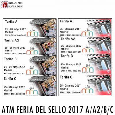 ATM DE LA FERIA DEL SELLO 2017 CINE CUATRO TORRES MERCADILLO PLAZA MAYOR Y 400 ANIVERSARIO