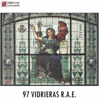 97 VIDRIERAS REAL ACADEMIA ESPANOLA RAE