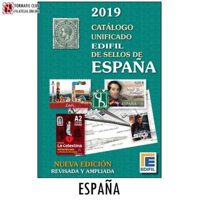 nuevo catalogo para sellos de españa edifil 2019