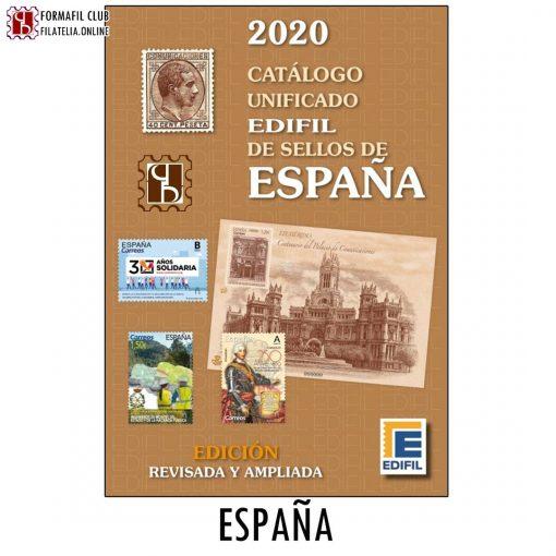 Catalogo Sellos Edifil España Edicion 2020