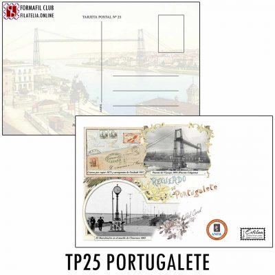 TP 25 TARJETA POSTAL EXFILNA 2017 PORTUGALETE