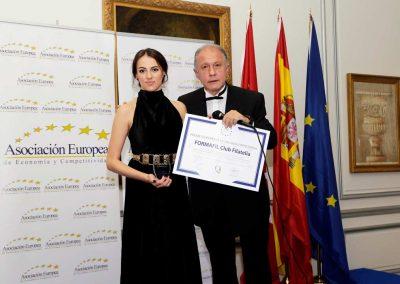 Premio Europeo a la Calidad Empresarial Formafil