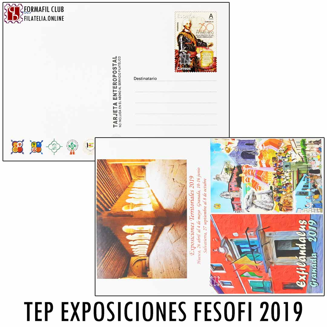 Tarjeta postal 2019