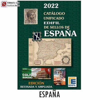 Catálogo Edifil 2022 España Unificado