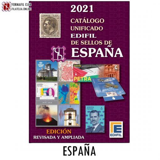 Catálogo de sellos 2021 Edifil