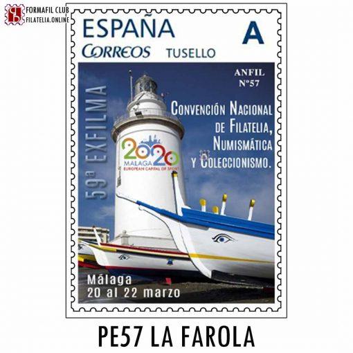 sello personalizado 57 la farola malaga